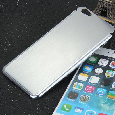 Brushed Back Cover Case with Solid Color for iPhone 6 Plus  -  5.5 inches