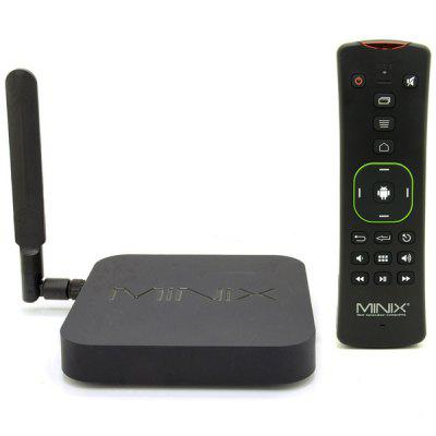 MINIX NEO X8 - H Plus Amlogic S812 - H 2GB RAM Quad Core 4K x 2K Android 4.4 WiFi Bluetooth TV Box Full 2160p H.265 HEVC Google TV Player + A2 Lite Air Mouse Support 2160P ( AC 100  -  240V / EU Plug)