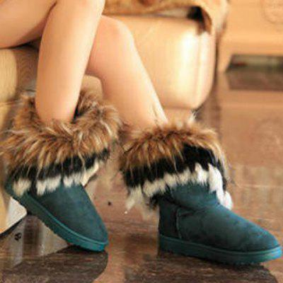 Faux Fur Snow Boots 2017 new brand genuine sheepskin snow boots 100