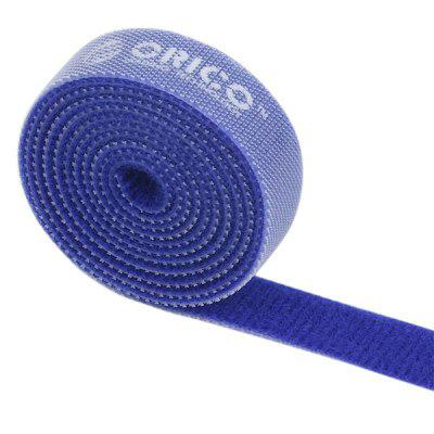 ORICO CBT - 1S Reusable Velcro Cable Ties Wire Management Bands Binging Strap Seals with Label for Household Electronic (3.3ft / 1m)