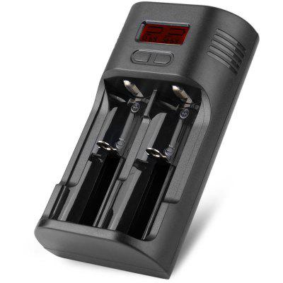 Soshine T2 CC / CV Li - ion / Ni - MH Battery Charger with Over Charging Time Protection with EU Plug Adapter - 100 - 240V
