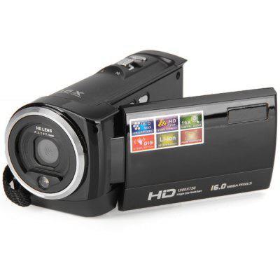 Practical HD 720P 2.7 inch TFT LCD 16.0MP Anti - shake Digital Video Camera Recorder for Home Entertainment ( AC 110  -  240V )