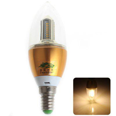 Buy WARM WHITE Zweihnder SMD 3014x32 LEDs E14 4W Flamed Bulb Warm White 380 Lumens Candle Light for $2.23 in GearBest store