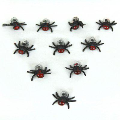 Funny Realistic Fly Plastic Trick Toys for April Fool's Day  -  10Pcs