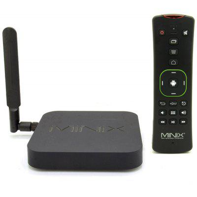 Buy BLACK MINIX NEO X8 H Plus Amlogic S812 H 2GB RAM Quad Core 4K x 2K Android 4.4 WiFi Bluetooth TV Box H.265 HEVC Google TV Player + A2 Lite Air Mouse Support 2160P  (AC 100 240V / US Plug) for $144.90 in GearBest store