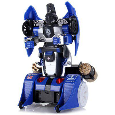 Cool 9065DBX RC Deformation Car Robot with Lights and Sounds  ( 220V 50GHz Charger )