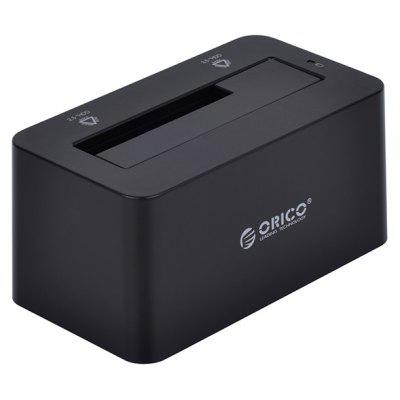 Buy BLACK ORICO 6619US3 5Gbps USB 3.0 to SATA Hard Drive Docking Station for 2.5 / 3.5 inch SATA HDD for $22.17 in GearBest store