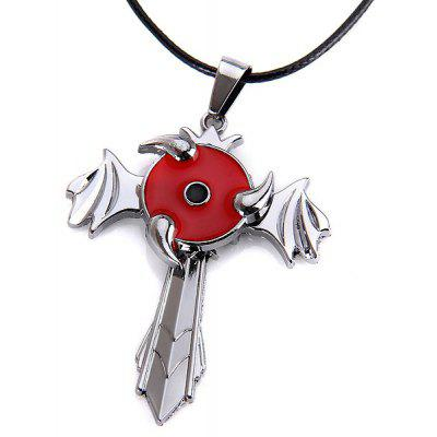 48cm NARUTO Necklace with Sharingan Logo
