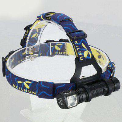 Skilhunt H02C Cree XML Color LED Waterproof Headlight  -  7 Modes 260Lm 1 x 18650 Battery