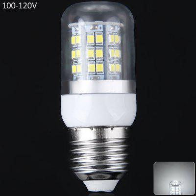 Buy COOL WHITE E27 10W SMD 2835 48 100 120V LEDs Light 900Lm 6000 6500K Transparent Corn Light for $2.63 in GearBest store