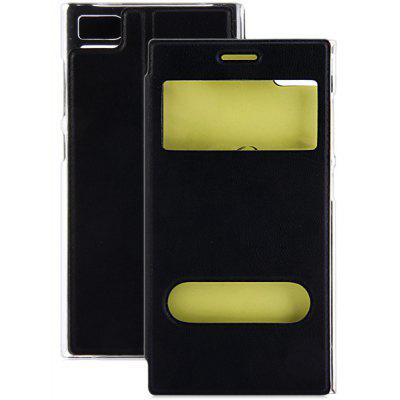 PC and PU Material NFC Intellisense Luminous Cover Case for Xiaomi 3