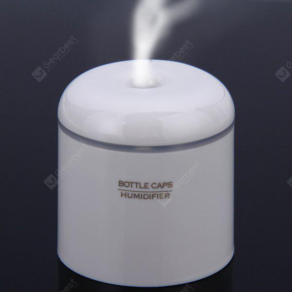 Lightweight Super Silent USB Bottle Caps Humidifier for Travel with Space - saving Design