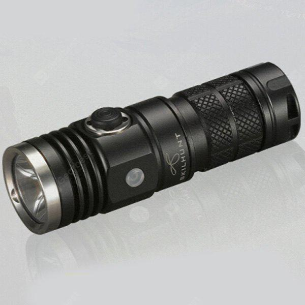 Skilhunt DS10 Cree XM  -  L2 LED EDC Waterproof Flashlight Battery Torch ( 5 Modes 300LM 1 x 16340 or CR123A Battery )