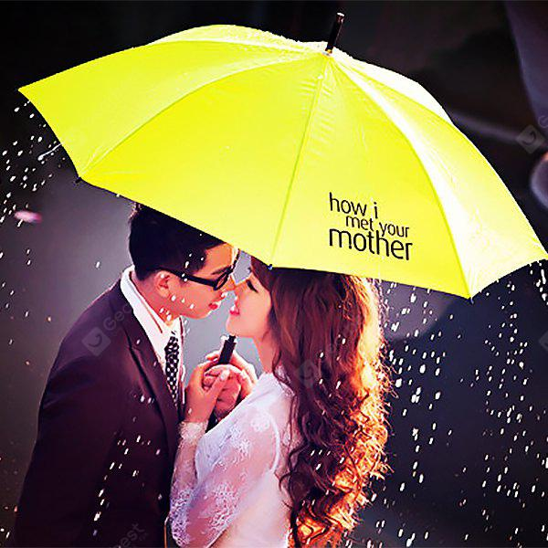 YELLOW Hot How I Met Your Mother Yellow Umbrella True Love Gift for Lover