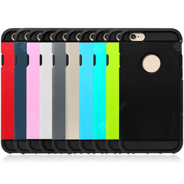 BLACK Practical TPU and PC Material Back Case Cover for iPhone 6 4.7 inches