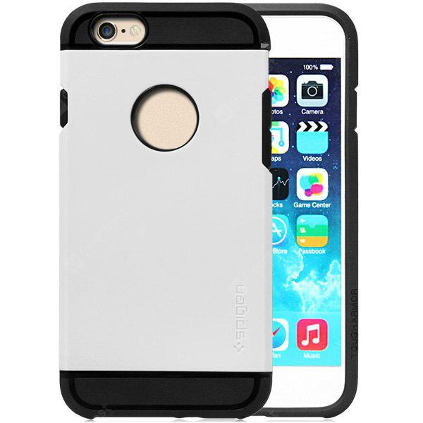WHITE Practical TPU and PC Material Back Case Cover for iPhone 6 4.7 inches