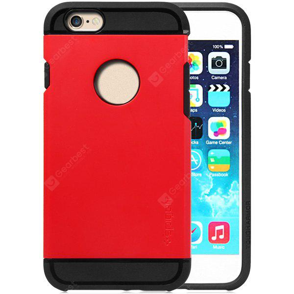 RED Practical TPU and PC Material Back Case Cover for iPhone 6 4.7 inches