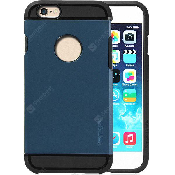 DEEP BLUE Practical TPU and PC Material Back Case Cover for iPhone 6 4.7 inches