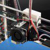 JGAURORA Z - 605S DIY Acrylic Frame Reprap Prusa I3 LCD Screen 3D Printer Self - replicating Exclusive Injection Molded for Education  -  AU Plug - AS THE PICTURE