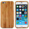 Fashionable Bamboo Back Case for iPhone 6 Plus  -  5.5 inches - LIGHT BROWN