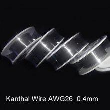 Kanthal wire online deals gearbest 04mm diameter 26 gauge kanthal resistance wire roll e cigarette coils for atomizers diy greentooth Choice Image