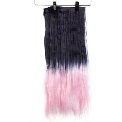 Gradient Color Long Straight Wig