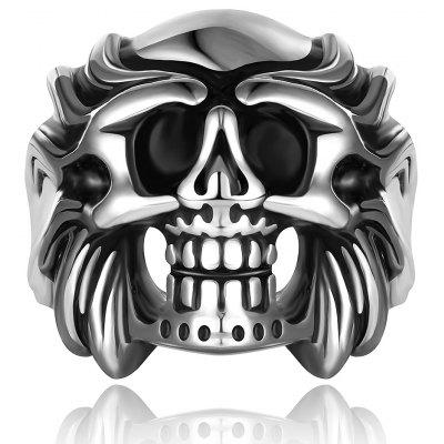 Skull Shape Alloy Ring