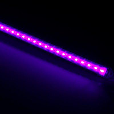 50CM 36 SMD 5630 LEDs 12W 1200Lm Wiring Pink LED Tube Light with Transparent Sheating  -  1500  -  1800nm