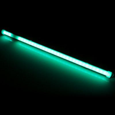 50CM 36 SMD 5630 LEDs 12W 1200Lm Wiring Green LED Tube Light with Milky Sheating  -  520  -  522nm
