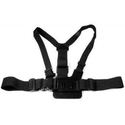 Portable Chest Body Camera Strap with 3 - way Adjustment Base