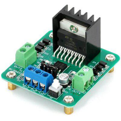 Practical High Power L298N Dual  -  H Bridge DC Stepper Motor Driver Module for Learners to DIY