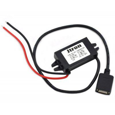 Multifunctional DIY DC to DC Vehicle Step Down Voltage Buck Power Converter Module for Car ( 12V  -  5V )