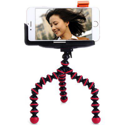 2 in 1 Flexible Octopus Tripod with Phone Clip Holder Sets