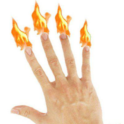 Fingertips Fire Party Show Stage Comedy Conjuring Props
