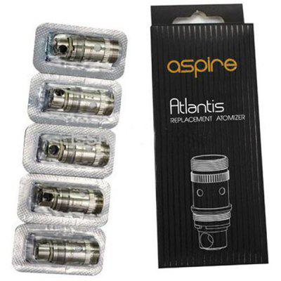 5pcs Genuine Aspire Atlantis E-cig Atomizer Heater Core