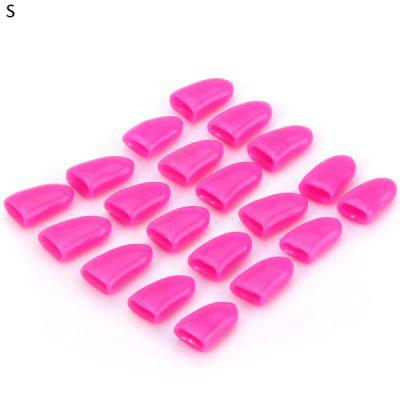 20pcs Pet Nail Wrap Caps Claw Protector Cover for Cat Dog