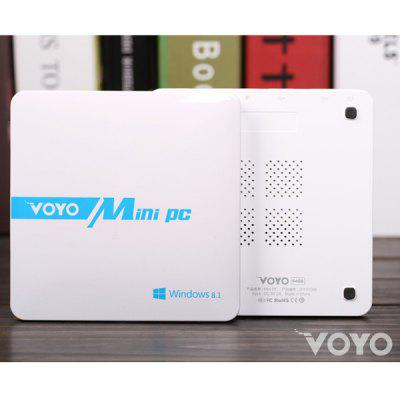 VOYO Smart Mini PC Intel Baytrail T Z3735 Windows 8.1 Android 4.4 4K Quad Core 2GB RAM 64GB ROM for WiFi Bluetooth  AC 100  -  240V