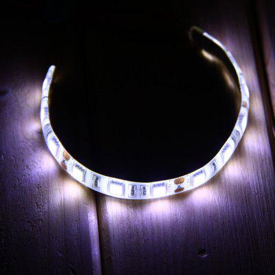 20CM 4W SMD 5050 12 LEDs Strip Light Water - resistant Flexible Tape Light 6000  -  6500K