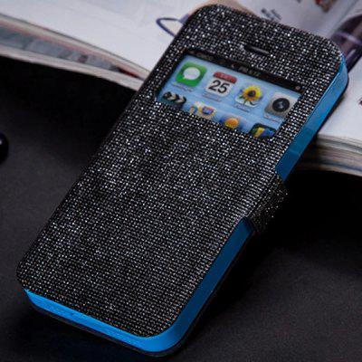 Fabitoo Magnetic Snap Design PU and TPU Cover Case for iPhone 5 5S
