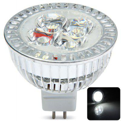 400LM GU5.3 4 x 1W LED 6000  -  6500K DC 12V LED Spotlight Halogen Lamp Replacement
