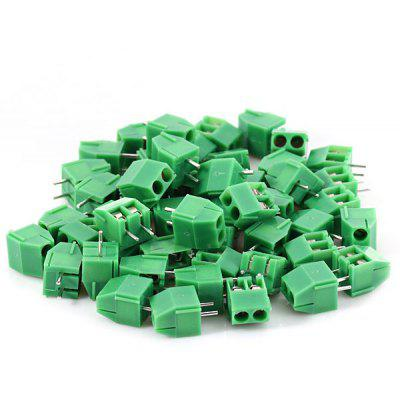 Practical 300V 16A 3Pin 3.5mm Line Terminal Connectors Blocks for DIY  -  50PCS