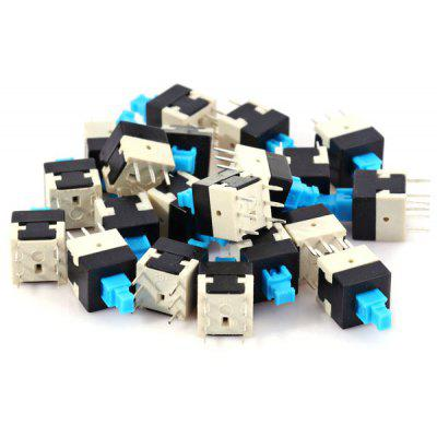 Electrical Power Control Non Lock Push Button Switches ( DC 30V 0.1A ) for DIY Project  -  20PCS