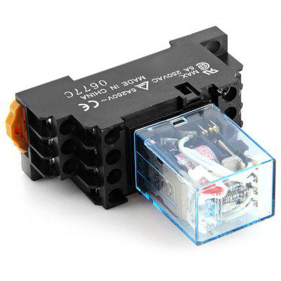 Practical AC 220 / 240V 5A Electromagnetic Relay for DIY Project