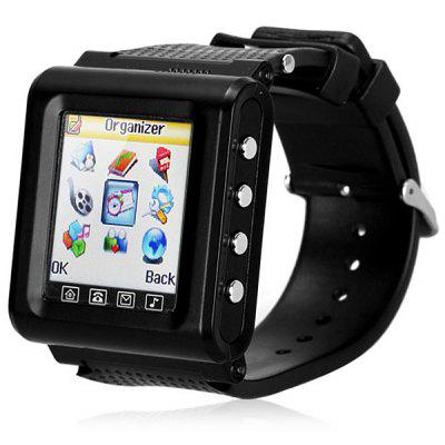 AK812 Watch Cell Phone with 1.6 inch Screen Quad Band Single SIM Bluetooth