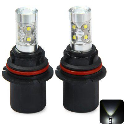 Sencart 9007 PX29T HB5 3100LM 50W 10 Cree XP - E LEDs Car Bulb Daytime Headlight  -  6500  -  7500K 1 Pair