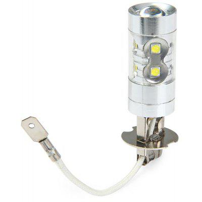 Sencart PK22S H3 50W Cree XPE 10 LEDs 3100Lm 6500  -  7500K Vehicle Brake Bulb Fog Light
