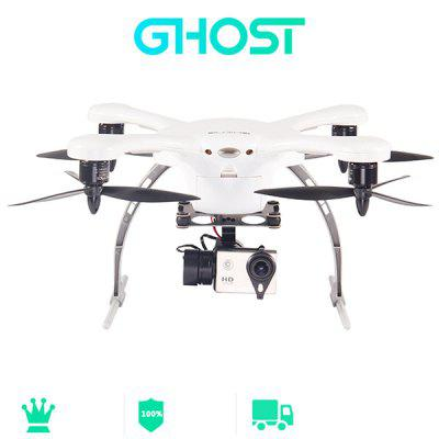 EHang GHOST+ Smart RC Quadcopter with 13.0MP Camera + Gimbal GPS Auto  -  Pathfinder Phone Control Drone