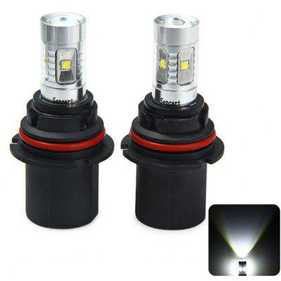 Pair of Sencart HB1 9004 P29T 2100LM 30W 6 Cree XPE LEDs Car Headlight Driving Bulb ( 6500  -  7500K )