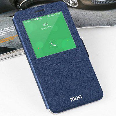 Mofi Phone Cover PU Case with Stand Function View Window for Meizu MX4 Pro