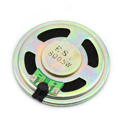Jtron High Performance DIY 8Ohm 0.5W Mobile DVD Small Round Speaker